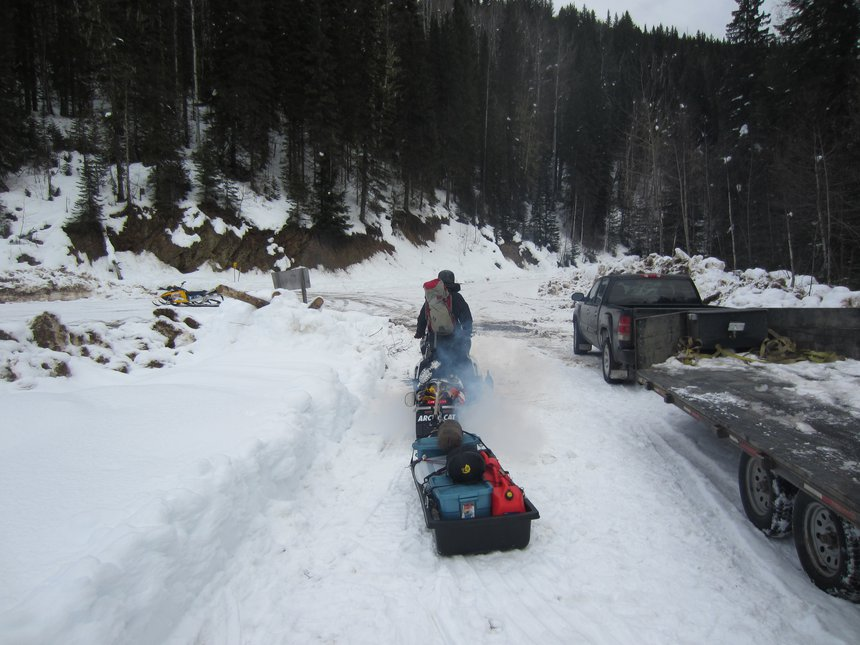 Sled wagon