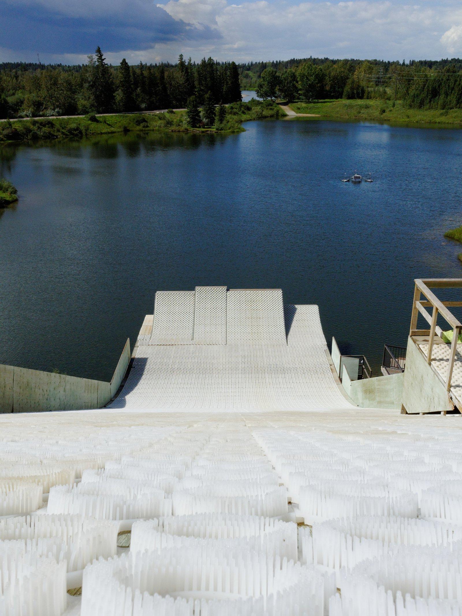 Red Deer Water Ramps - August 2013