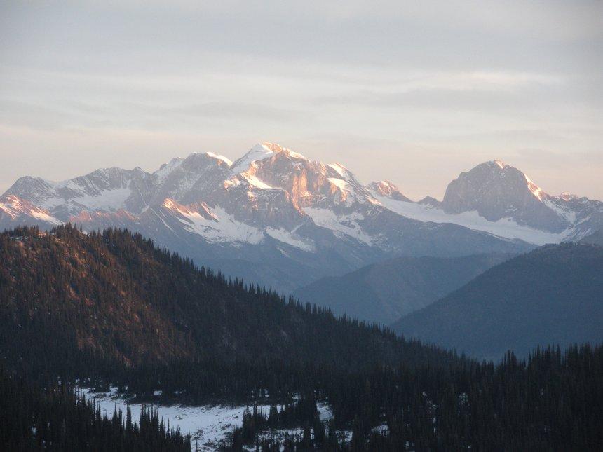 Carnes Peak sunrise