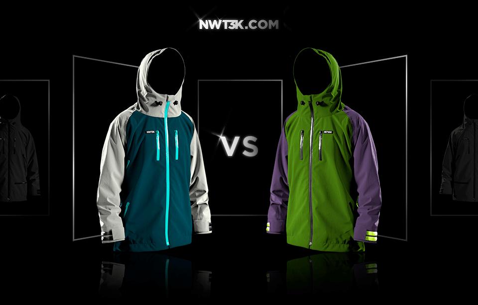 Color-way combat - Ice or Donatello?