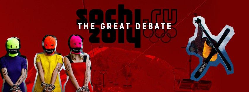 Sochi Olympics - The Great Debate