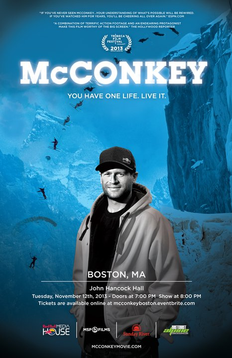 McConkey Movie Comes to New England
