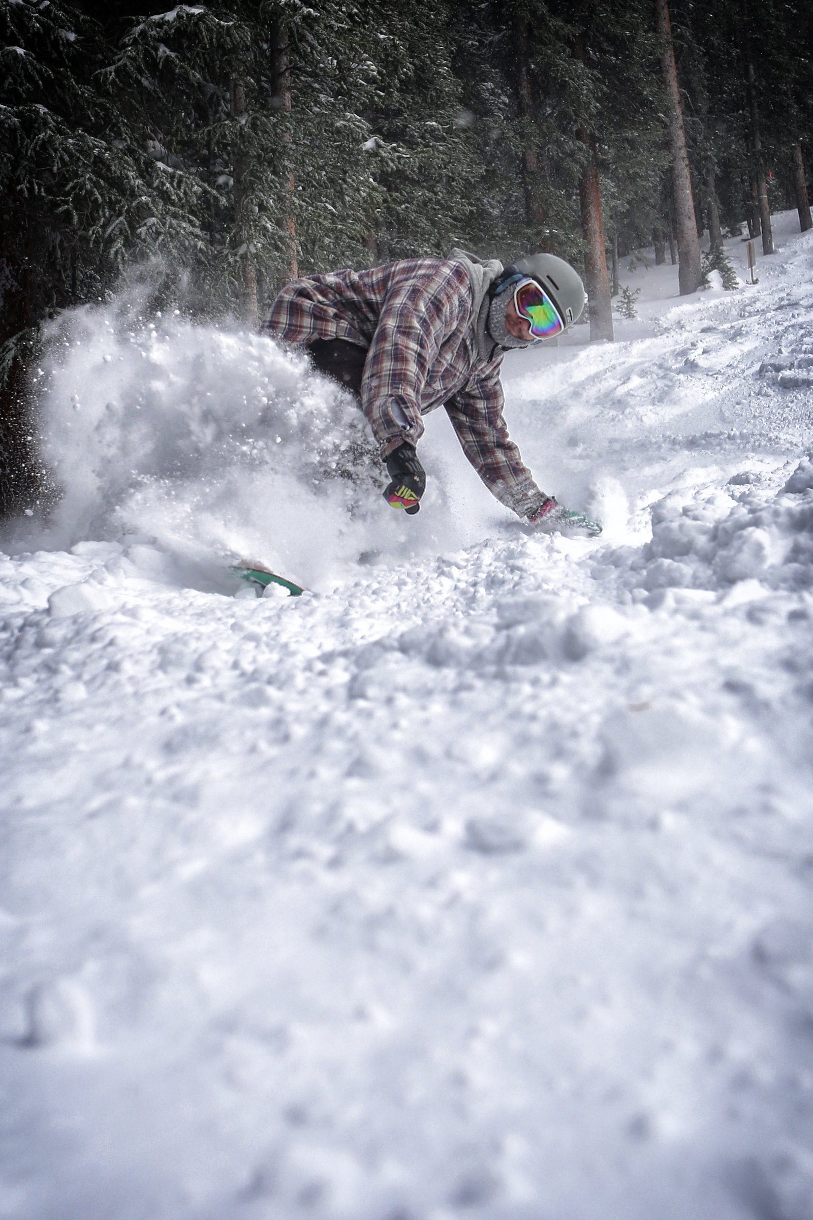 Opening Day Pow!