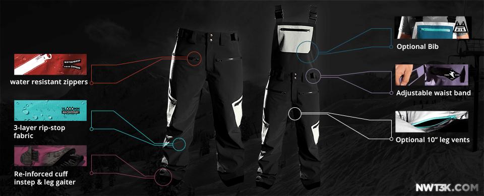 Custom pants OR bibs?