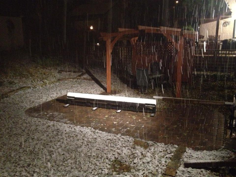 SNOW HAS COME TO MINNESOTA