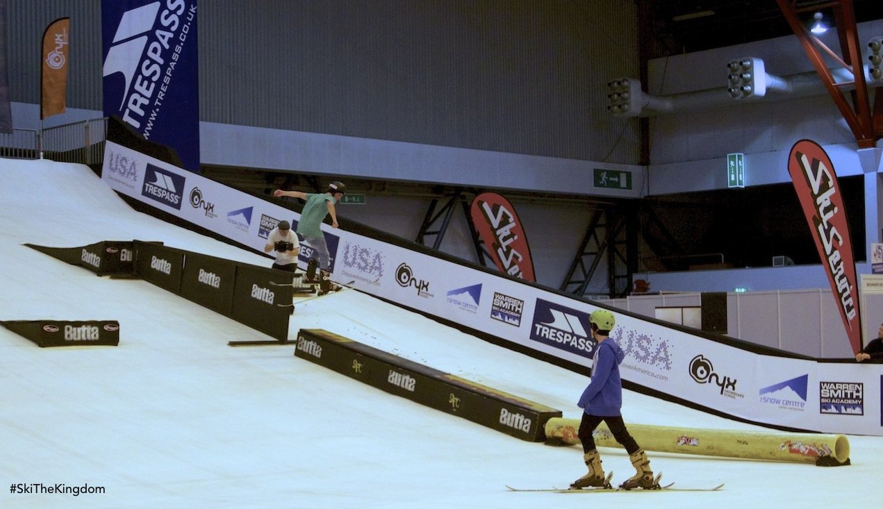 SkiTheKingdom @The London Ski Show