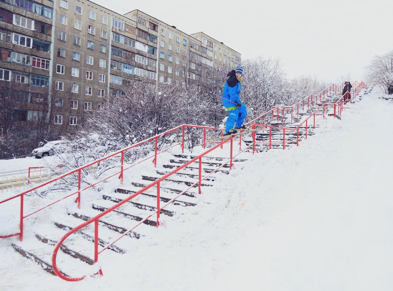 Street in Murmansk