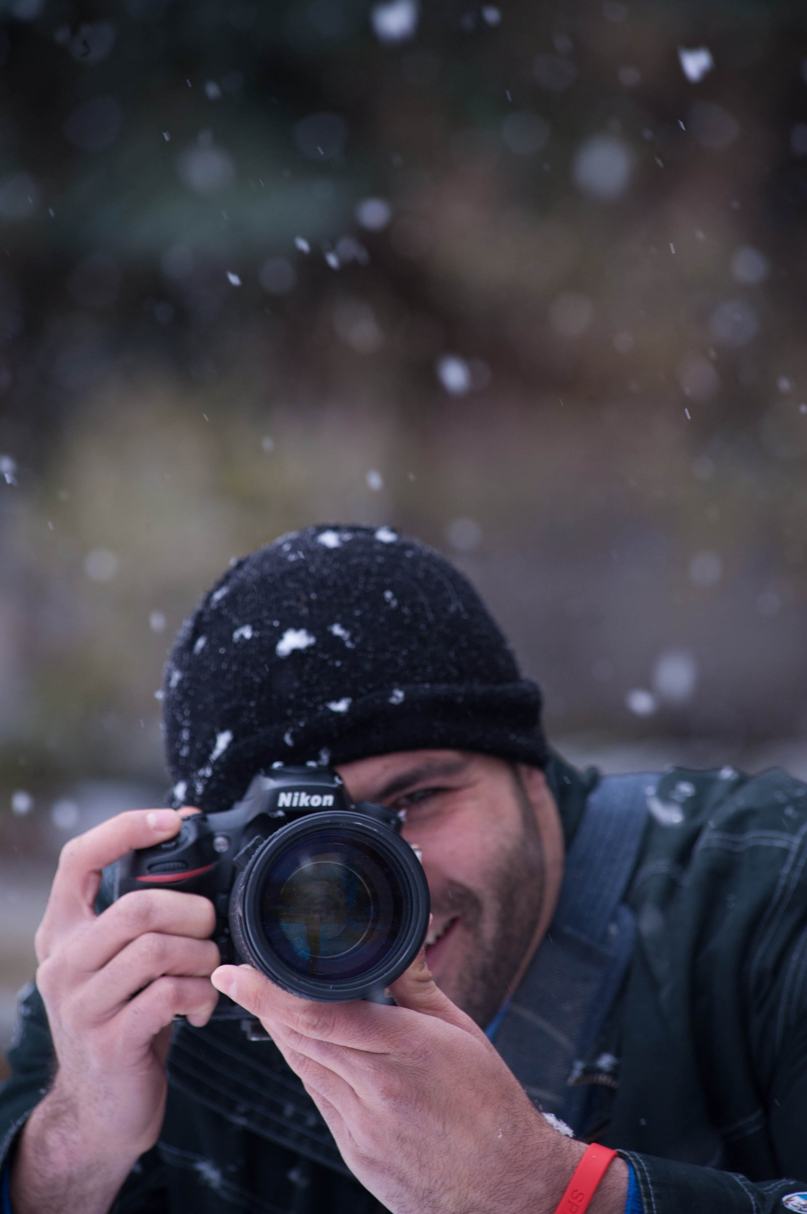 Photographer sighting