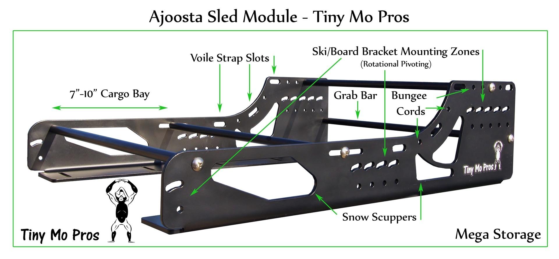 Ajoosta Sled Modules - Tiny Mo Pros
