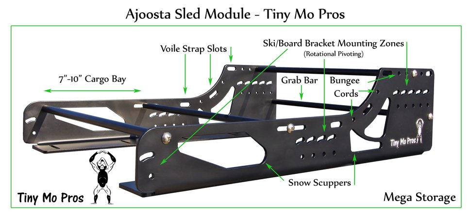 Ajoosta Sled Modules - Tiny Mo Pros