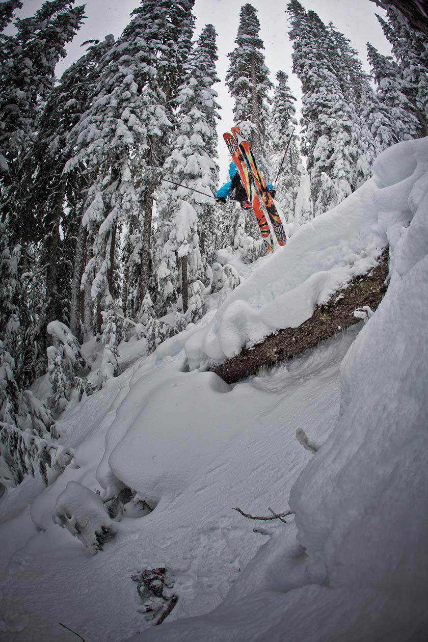 Tim Durtschi in the Backcountry