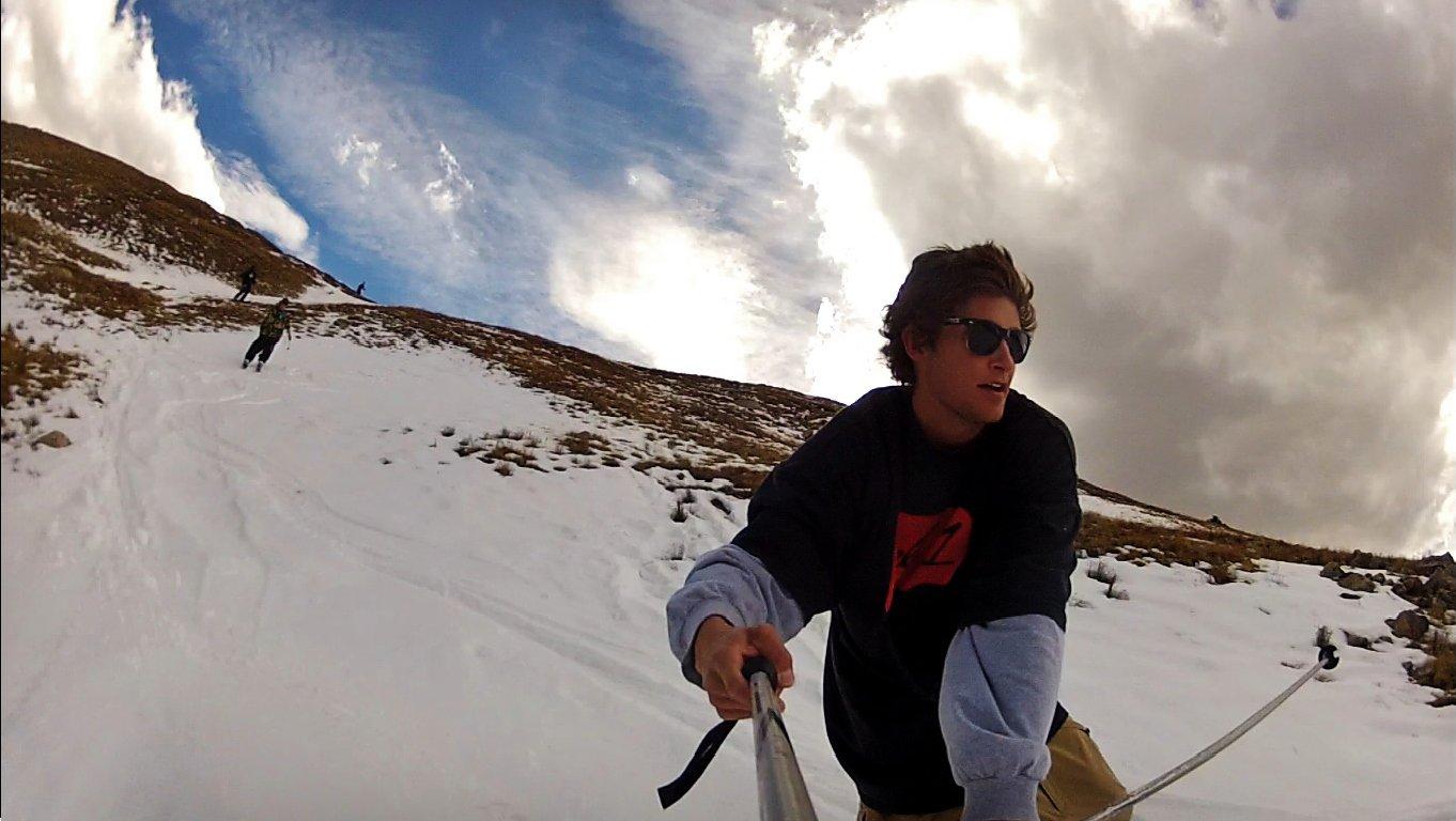 loveland pass fall skiing