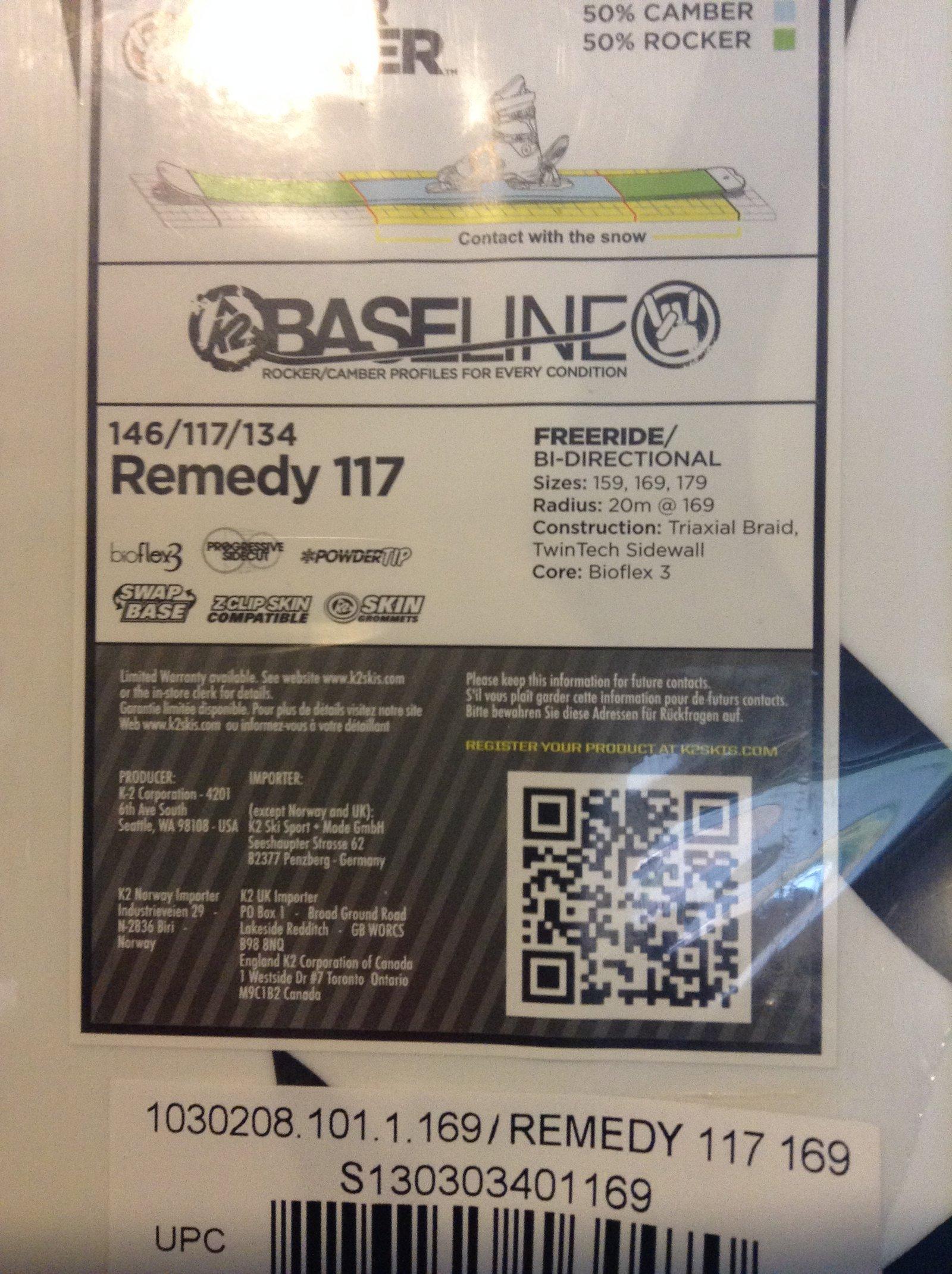 K2 Remedy 117