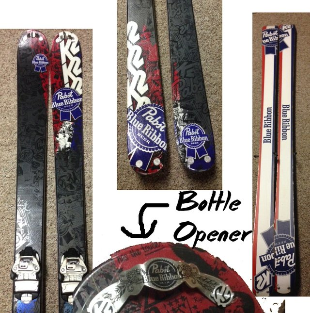 K2  PBR Skis 179cm w/ Rocker