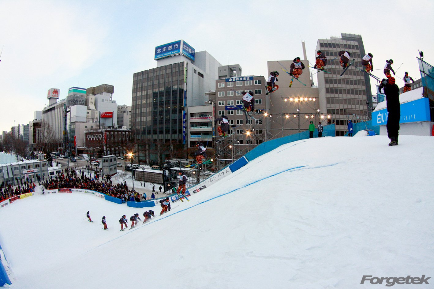 Sapporo downtown session