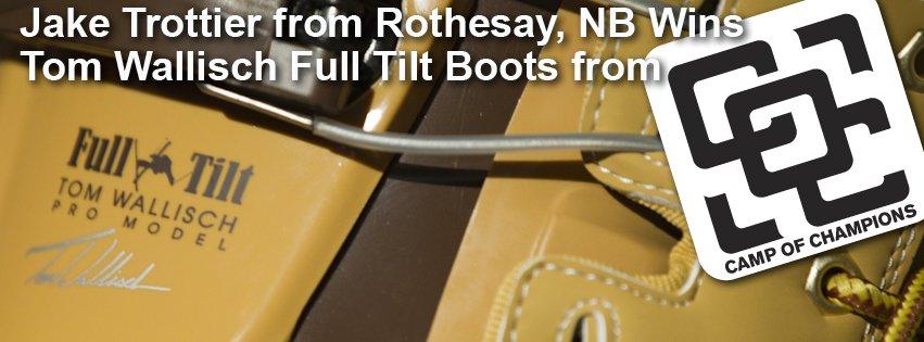 Share Like and Win - Tom Wallisch Full Tilt Boots Winner
