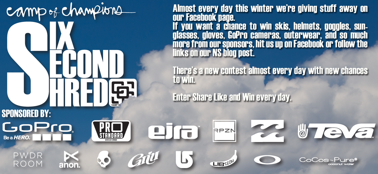 Win free stuff from Camp of Champions