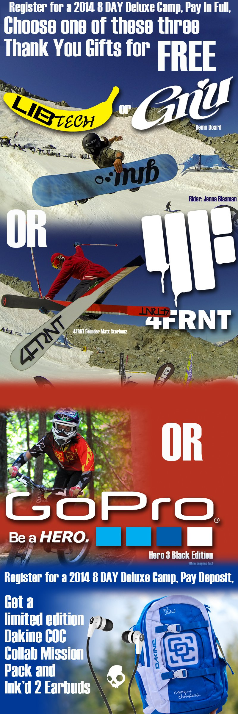 Free Skis When You Register For COC 2014