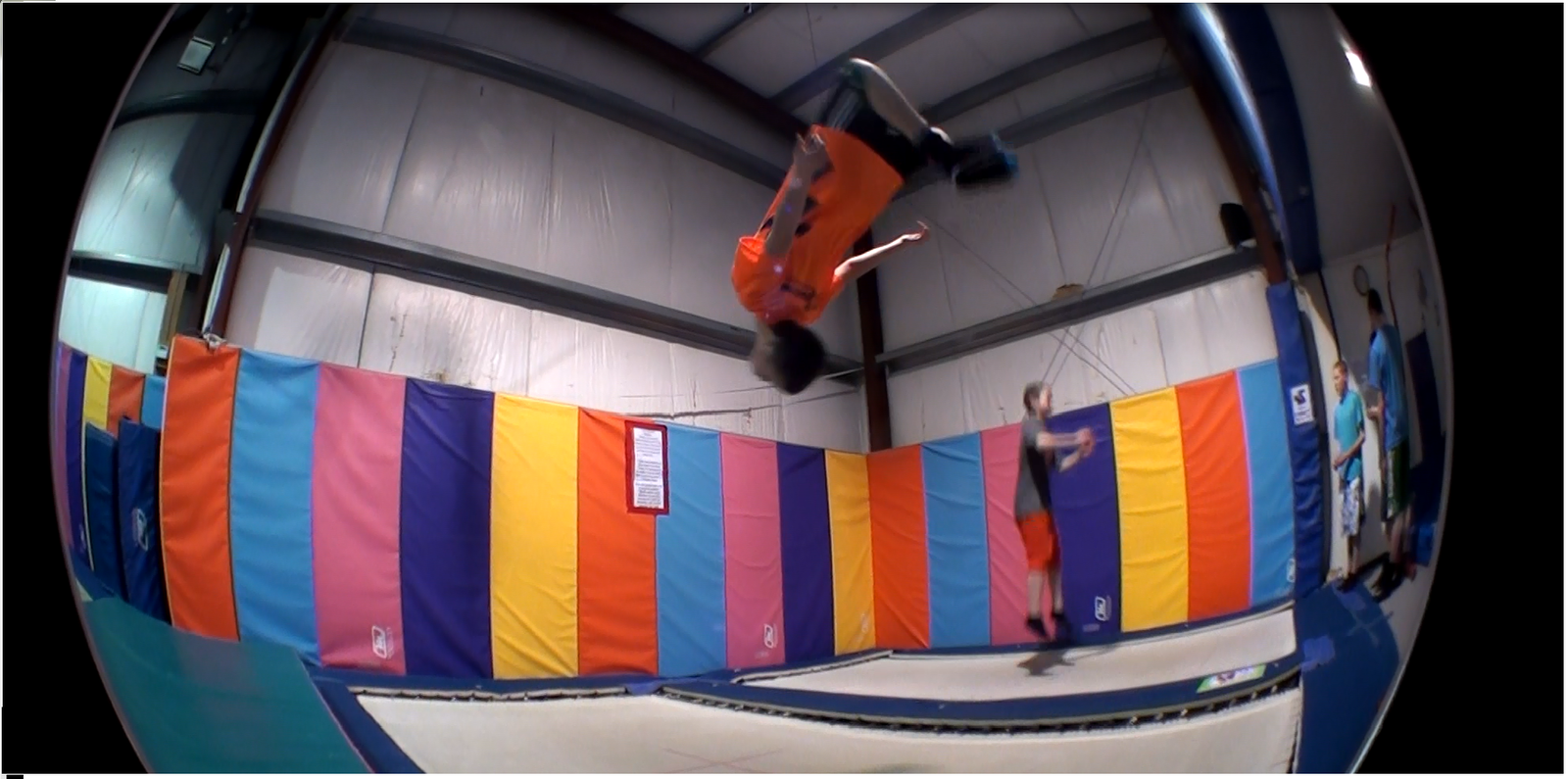 My laid out backflip