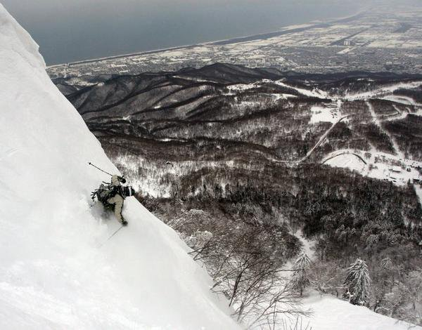 Slashin Above Sapporo Japan