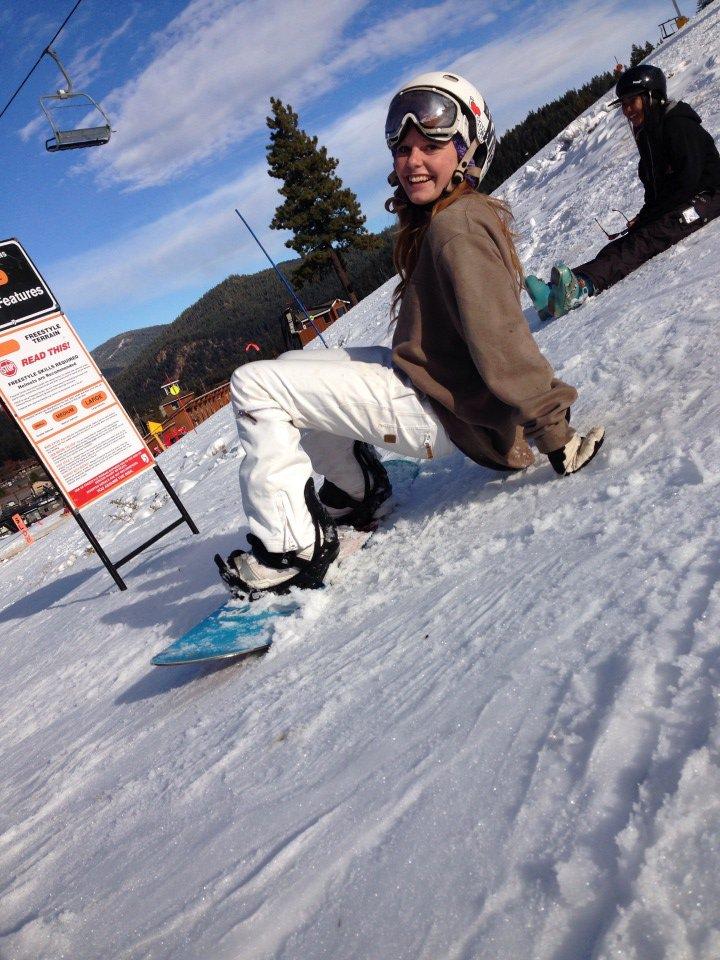 yep, definately a skier