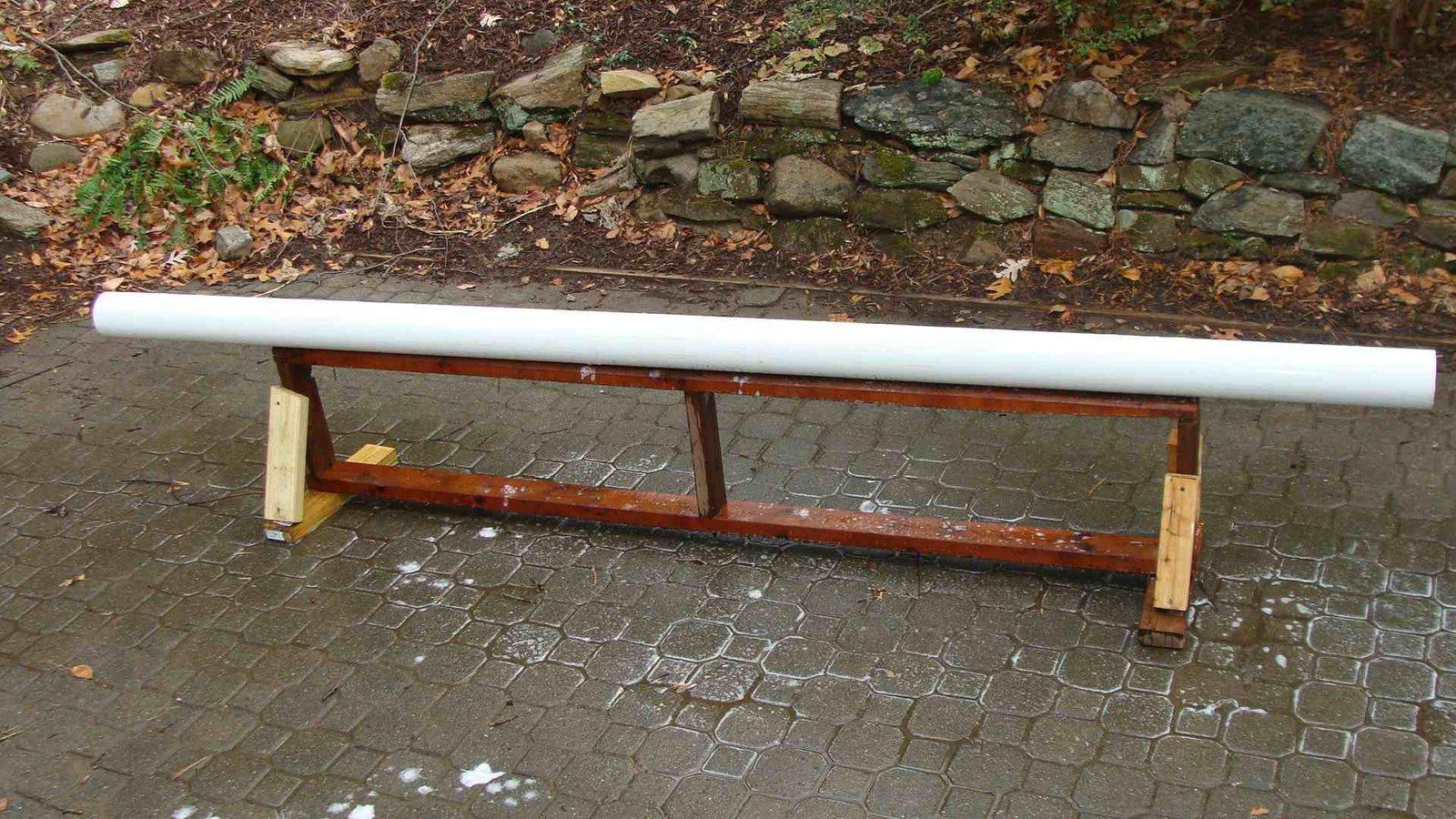 New Backyard Rail