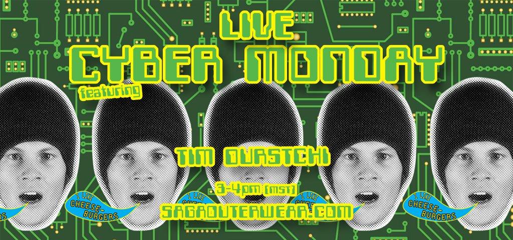 Cyber monday with Tim Durtschi