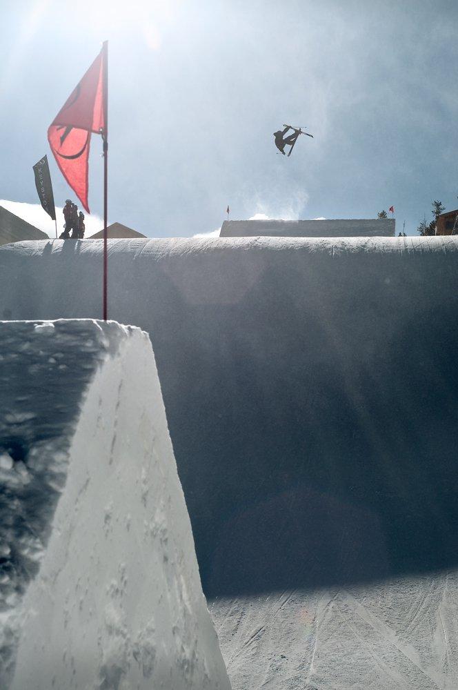Ski Patrol Looks On...