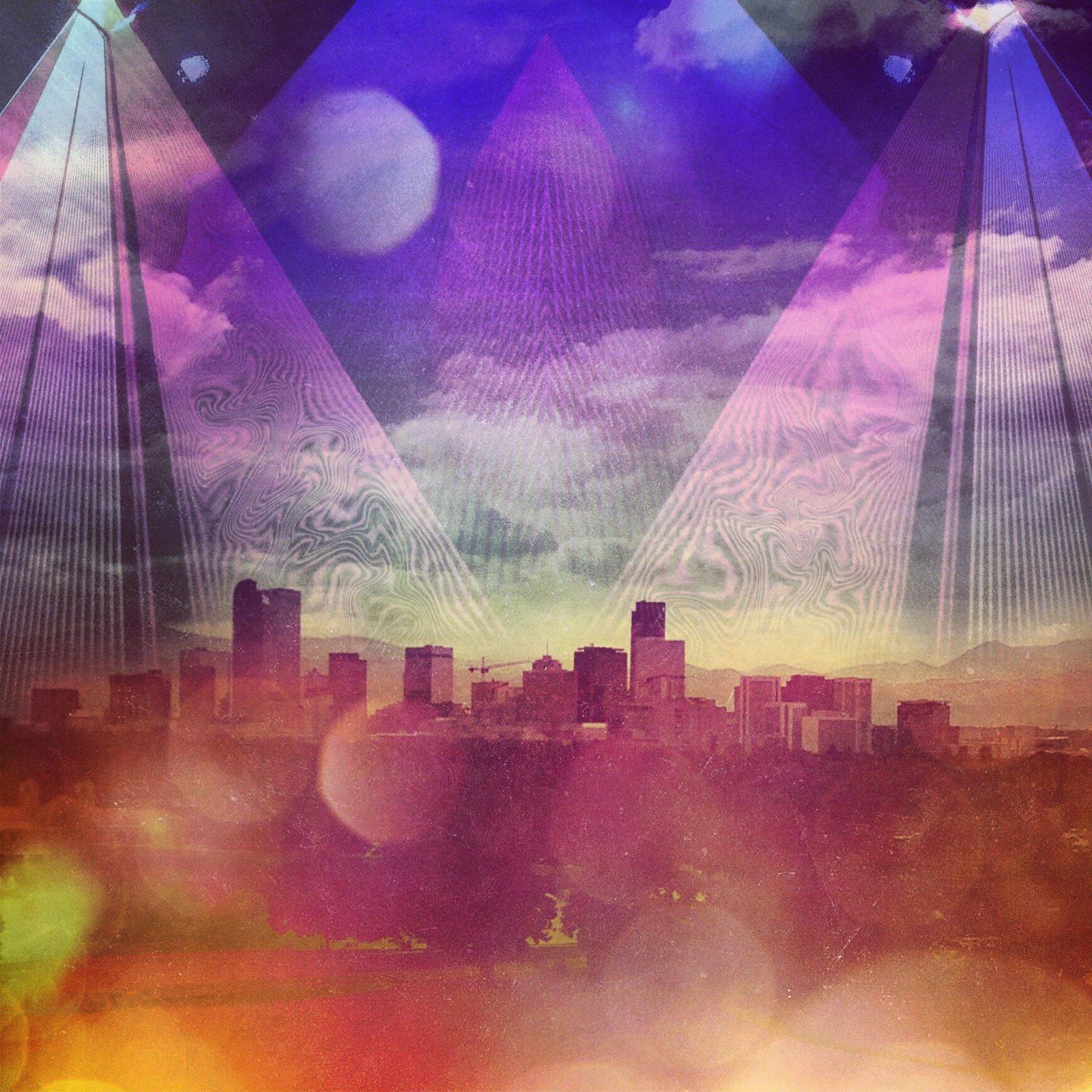 lasers over Denver