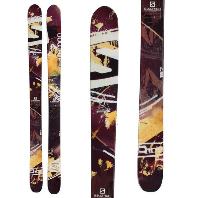 2014 Solomon q105 181cm skis