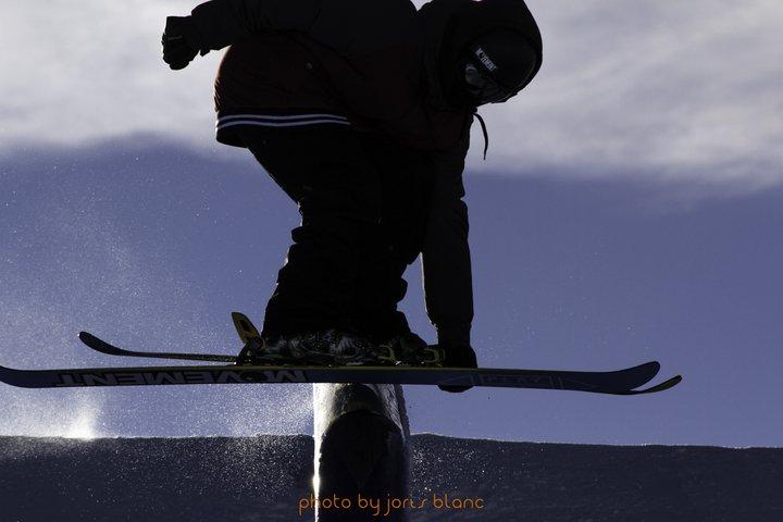 Grabbing on the Tube // Sampo Vallotton // Glacier 3000