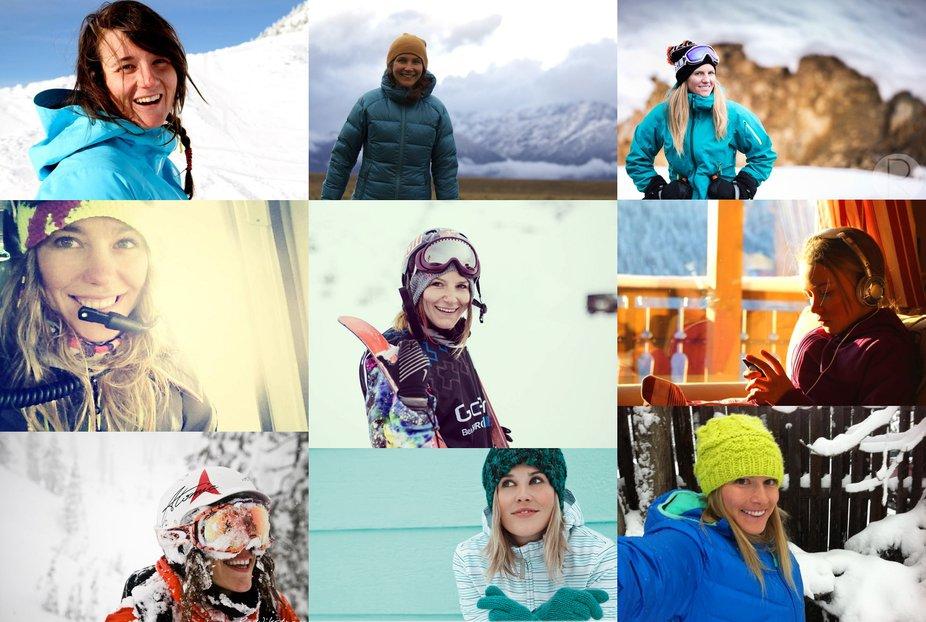 Nine Inspiring Female Skiers