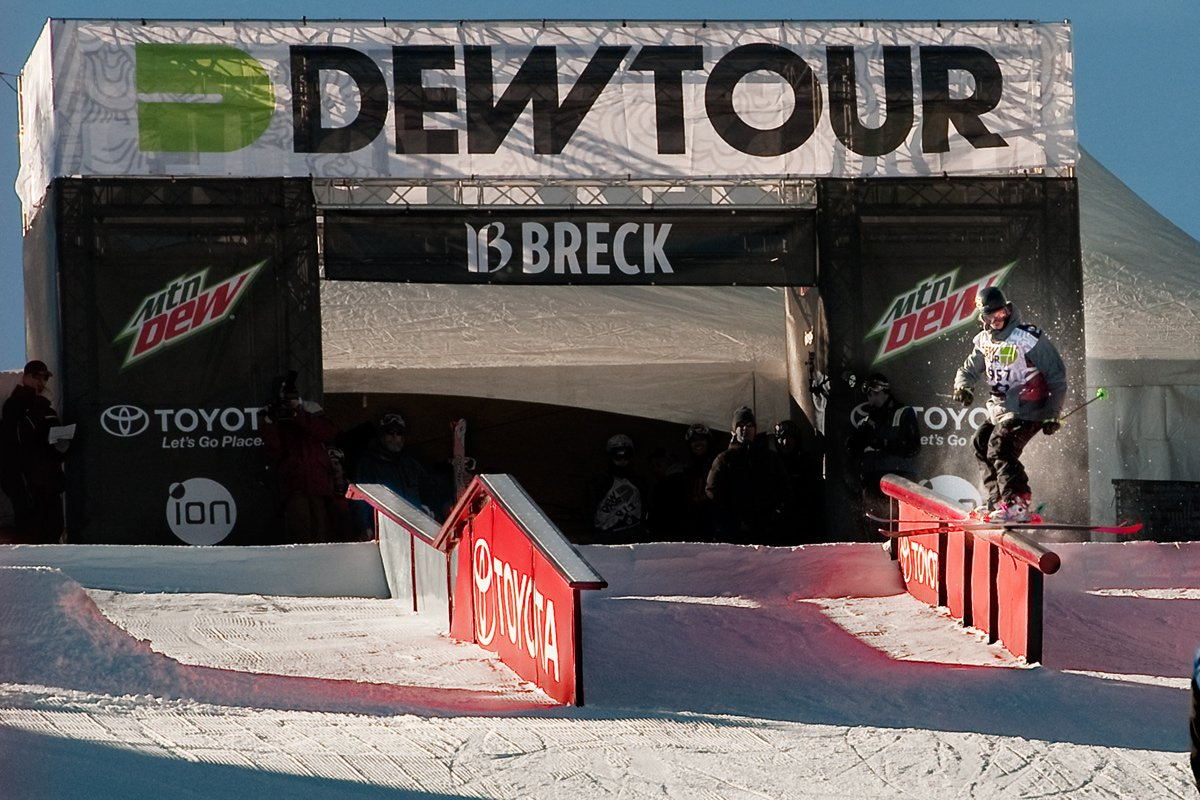 Dew Tour Down Rail