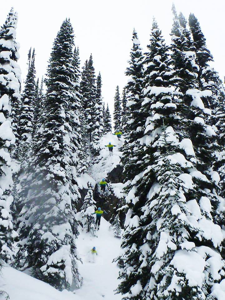 Revelstoke cliff sequence