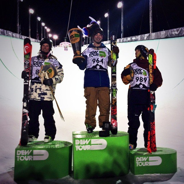 Mens Freeski Superpipe Results - Breck Dew Tour