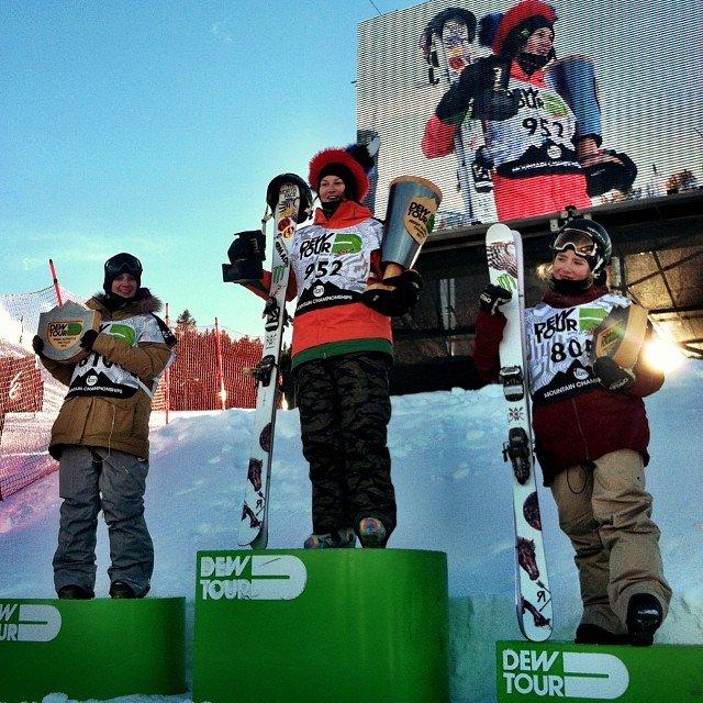Women's Freeski Slopestyle Finals - Breck Dew Tour