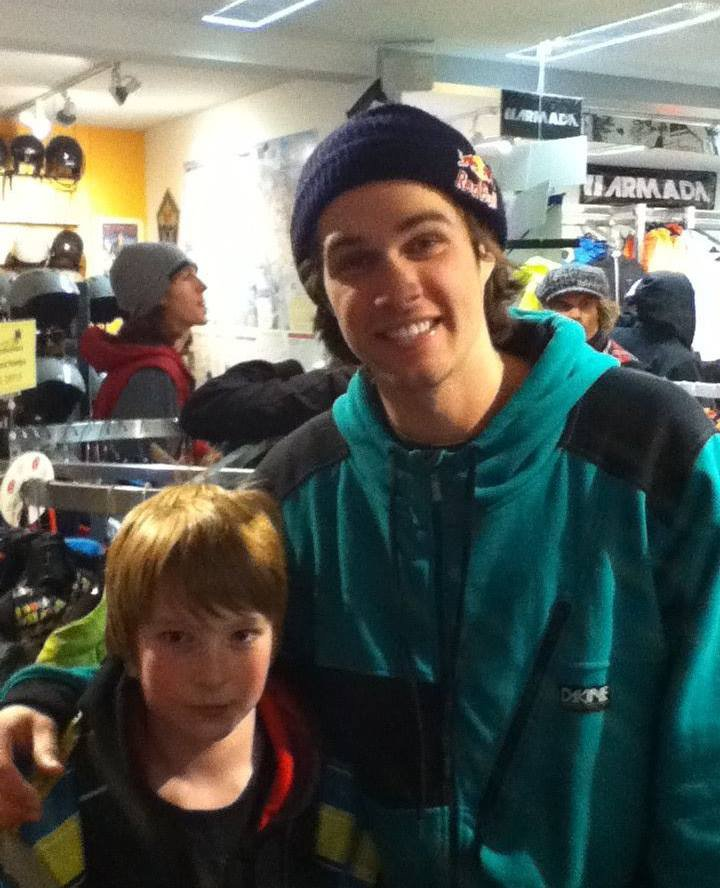 Dew Tour at killington with Bobby Brown