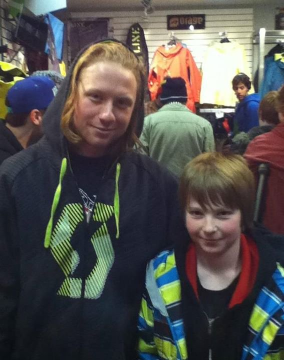 Met him at the killington dew tour 2 years ago