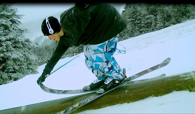 Nose grab slide