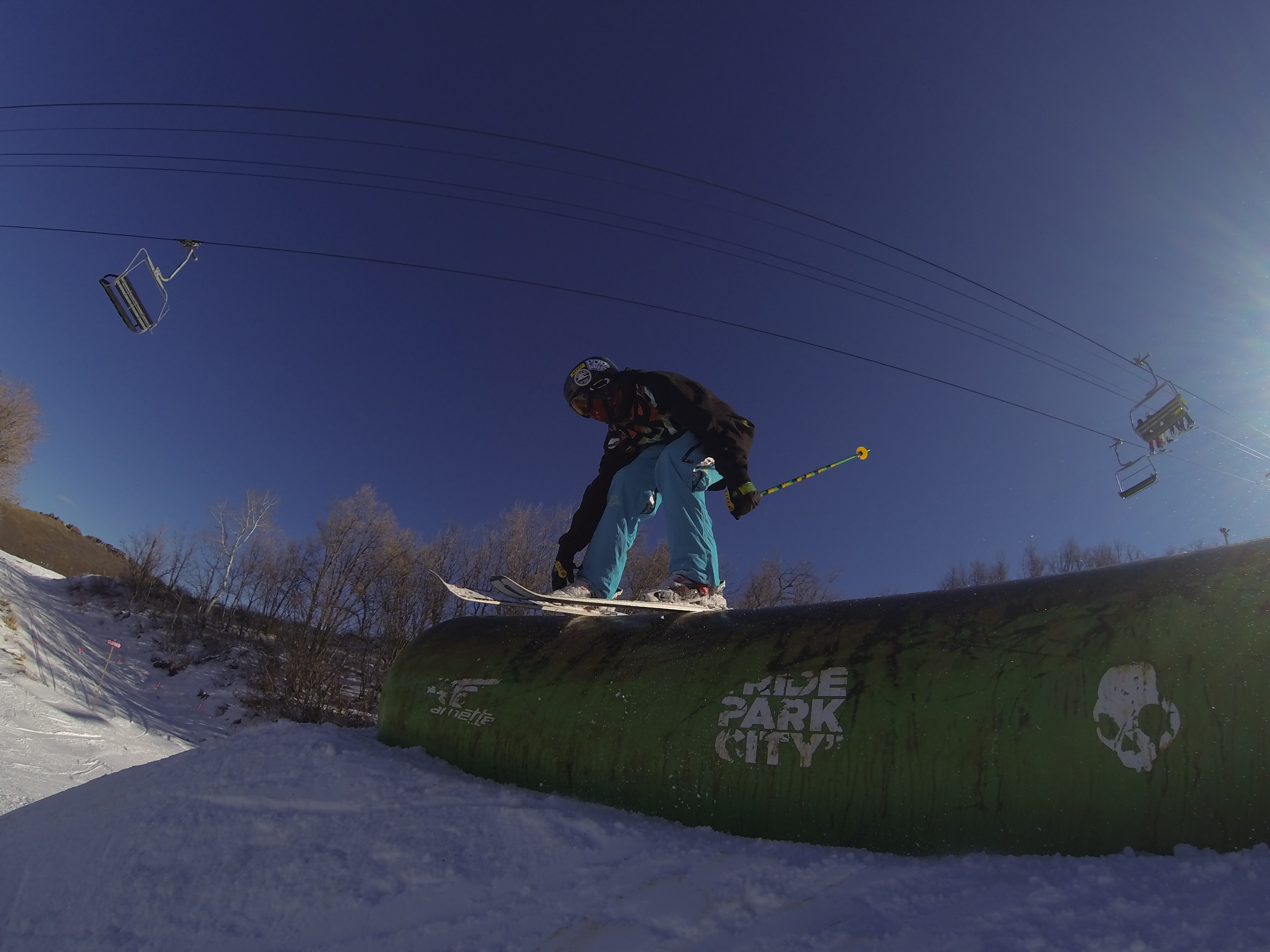 Grinding the pill at Park City