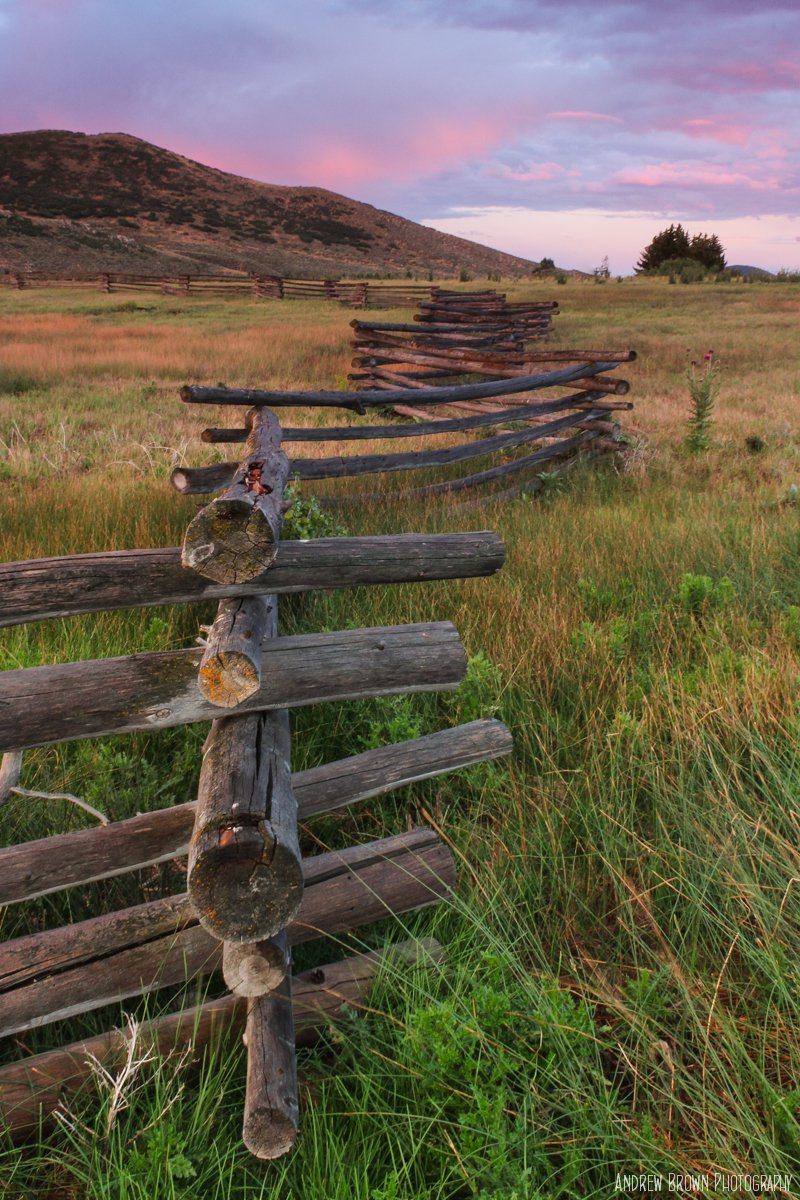 Fence in Park City