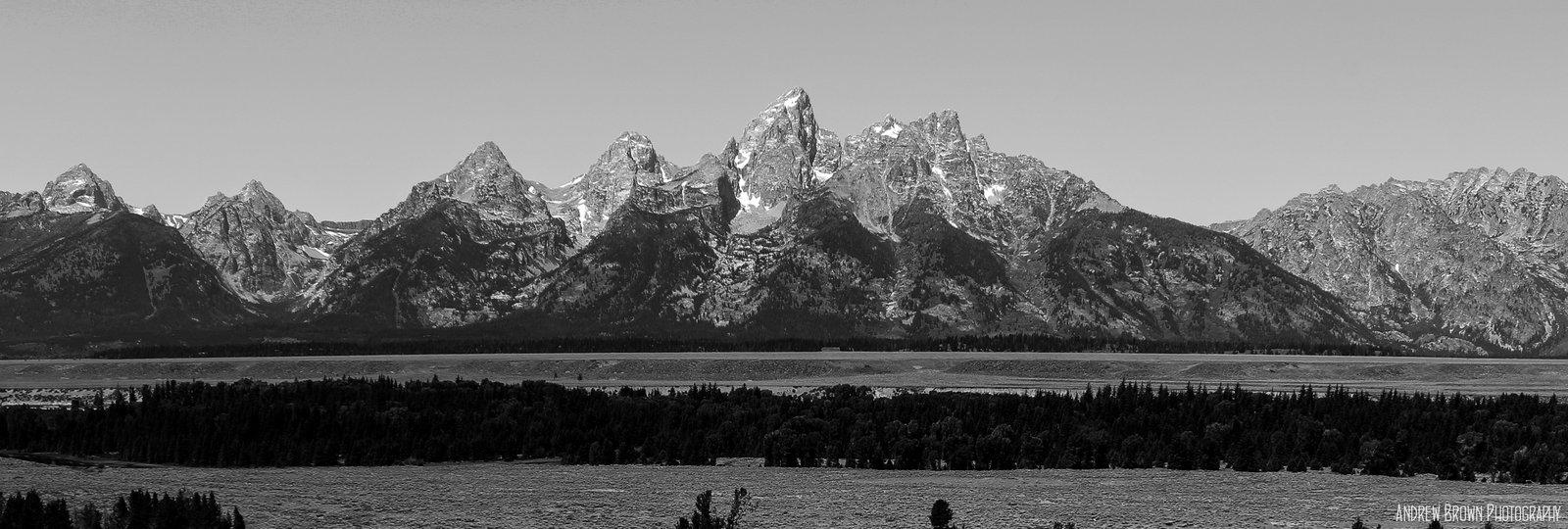 Teton mountains.