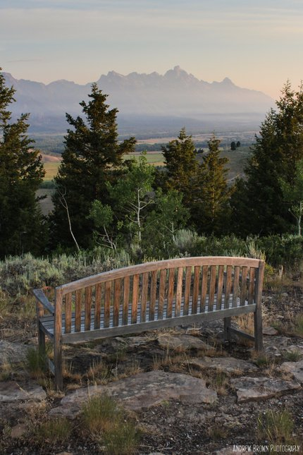 Fence with tetons