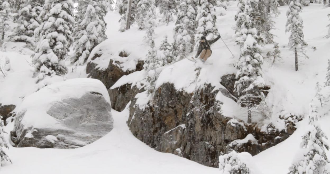 cliff drop screenshot