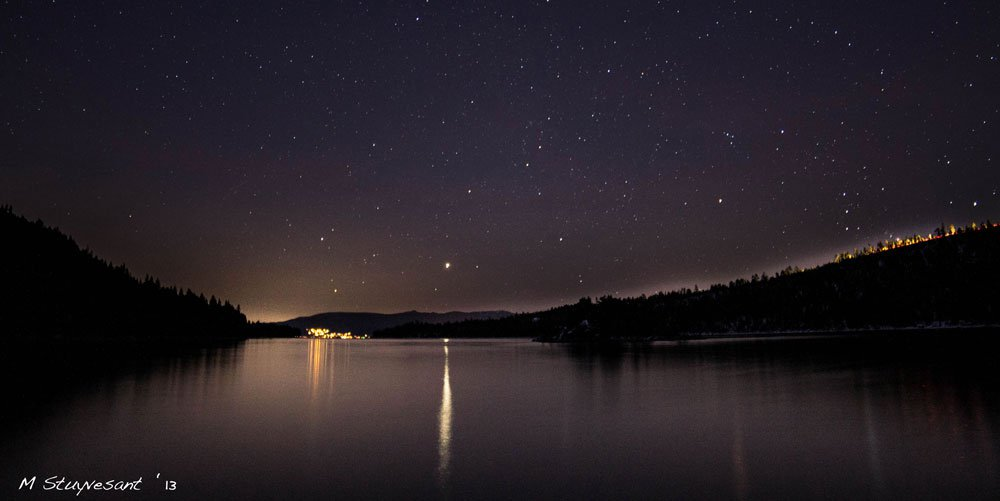 Jupiter Over Emerald Bay