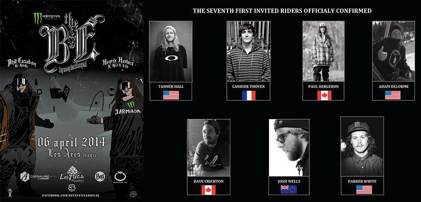 First 7 skiers invited