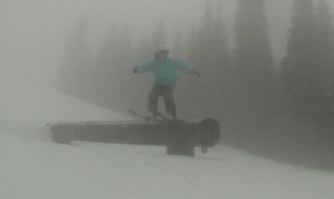 Foggy rail day #3