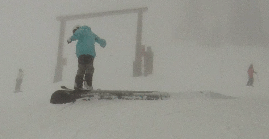 Foggy rail day #2
