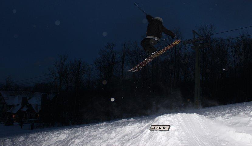 Side Hit at Jay Peak