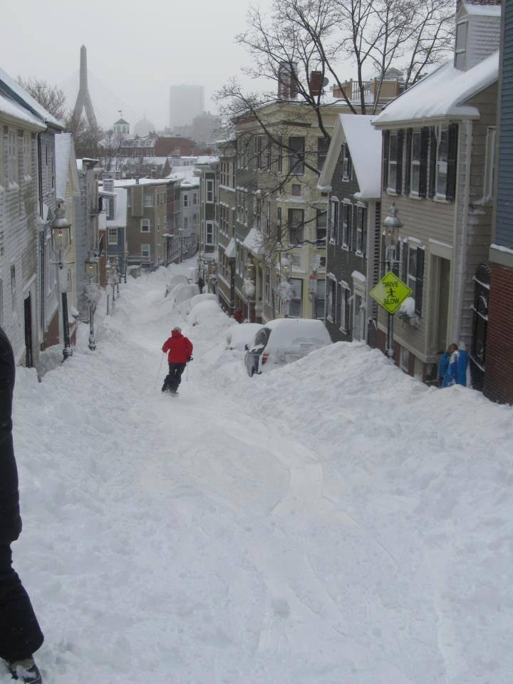 Skiing in Boston